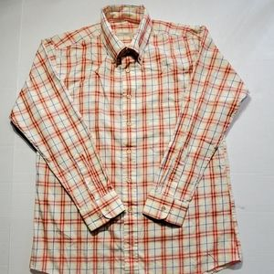 Burberry men's dress shirt size XL Made in the USA